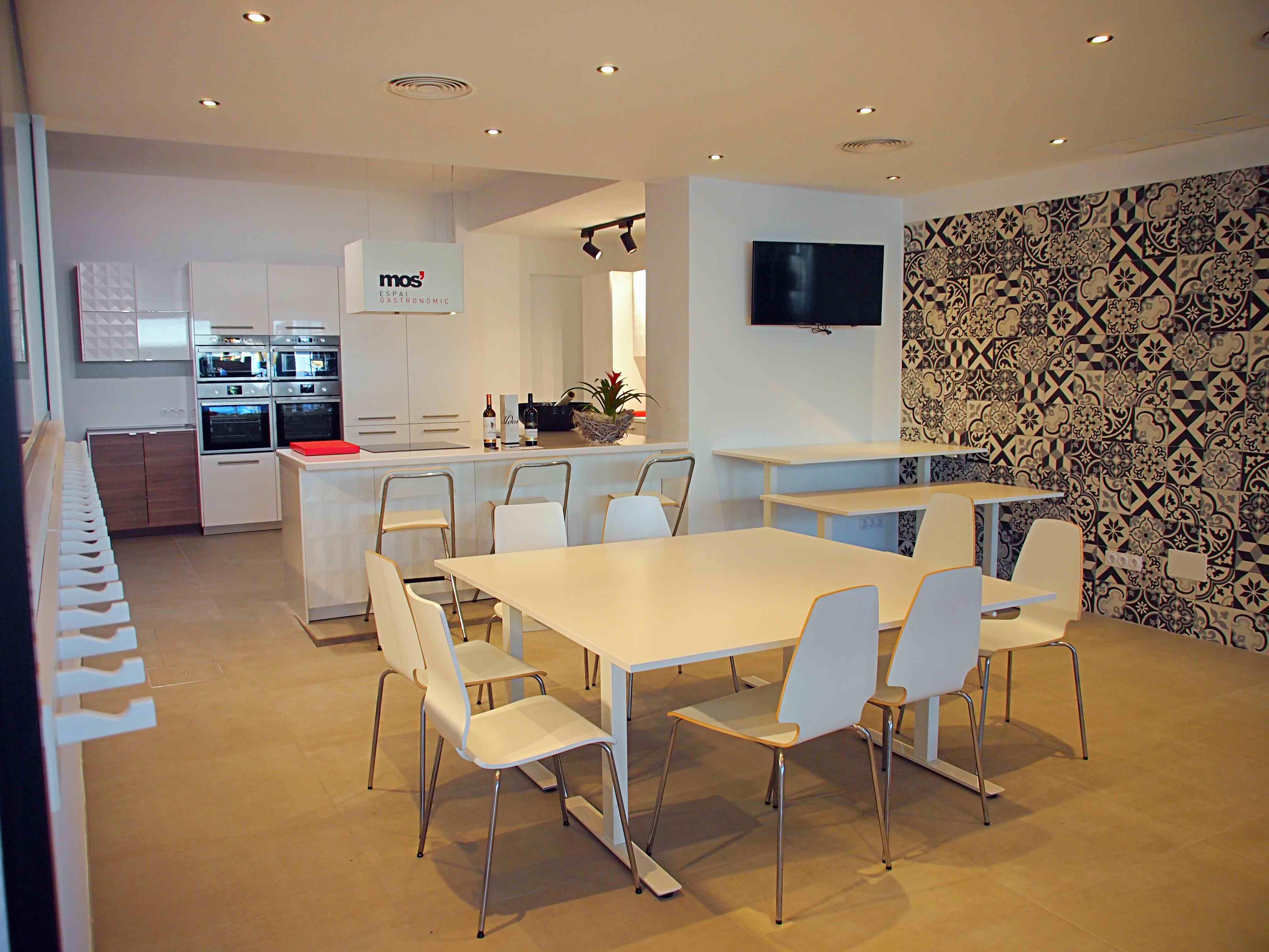 Aula de cocina en Mos Espai Gastronòmic